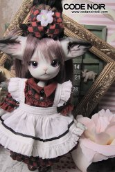 CODENOiR x DollZone Mini Kitty - Alice Wish Red