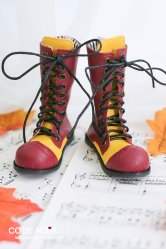 CMS000095 Red Clown Boots