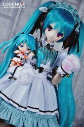 CLW000146 Teal Twintail