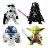"Candy Toys ""Star Wars"" Star Wars Converge [1 set 4box] (Japan Ve"