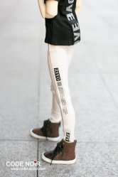 CSD000083 White Slim Fit Pants