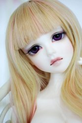 Basic[Haerang] Normal Skin with makeup and eyes, Heel Leg parts