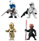 "Candy Toys ""Star Wars"" Star Wars Converge 2 [1 set 4box] (Japan"