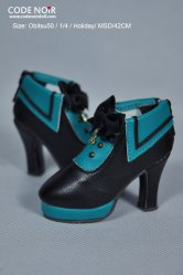 CMS000084 Black x Teal Sailor Heels MSD ver.