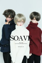 [In Stock] SOAVE - Black, Burgundy, Navy