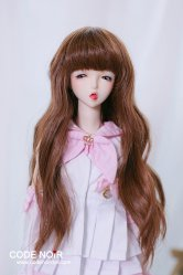 CYW000064 Brown Long Wavy