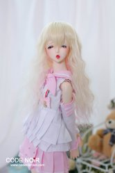 CYW000067 Light Gold x Pink Long Wavy