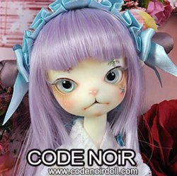 [Pre-Order] CODENOiR x DollZone Miss Kitty - Blue Snow Fairy