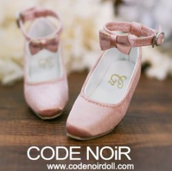 CMS000115 Rose Silk Ribbon Heels