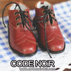 CBS000045 Brick red Oxford