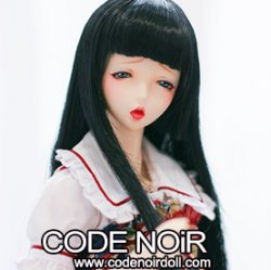 CYW000085 Black Hime-Cut