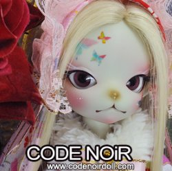 [Pre-Order] CODENOiR x DollZone Miss Kitty ~New Year 2021~