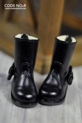 CYS000032 Black Ribbon Rain Boot