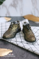 CBS000037 Metallic Black Gold Oxford