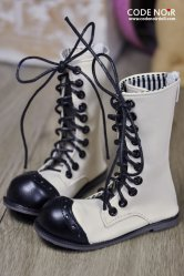 CMS000035 White Clown Boots MSD