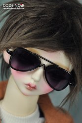 CAC000021 Black Aviator Sunglasses for SD