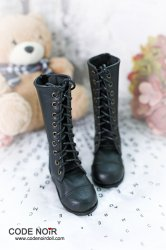 CLS000143 Black Leather Boots