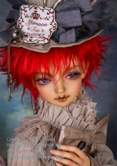Bella the Moon with FOC LE Mad Hatter_Alice in Wickedland makeup
