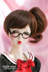 CYW000053 Brown Short Ponytail