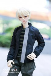 CSD000089 Black Casual Jacket