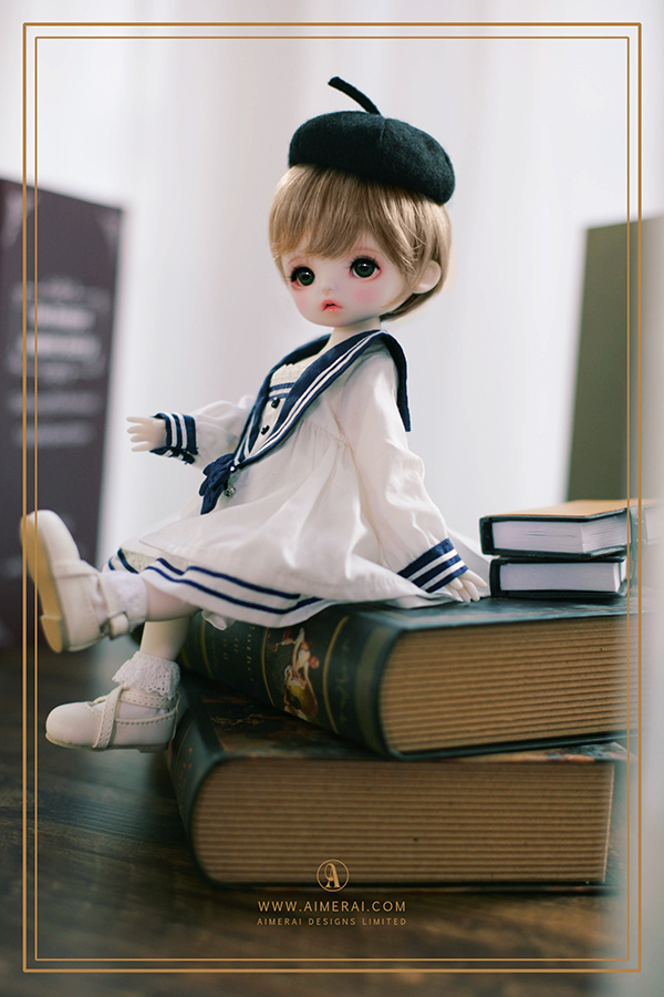 【 AIMERAI X CODENOIR 】Gina - My Little Bookworm