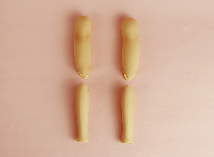 [Outer Body Part] Type-L Upper & Lower Arm Set Tan (Blushed)