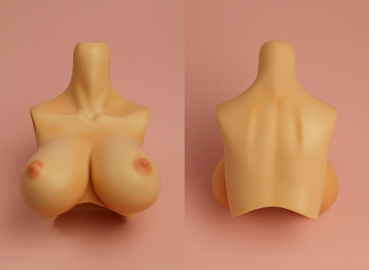 [Outer Body Part] Type-G Bust Tan (Blushed)