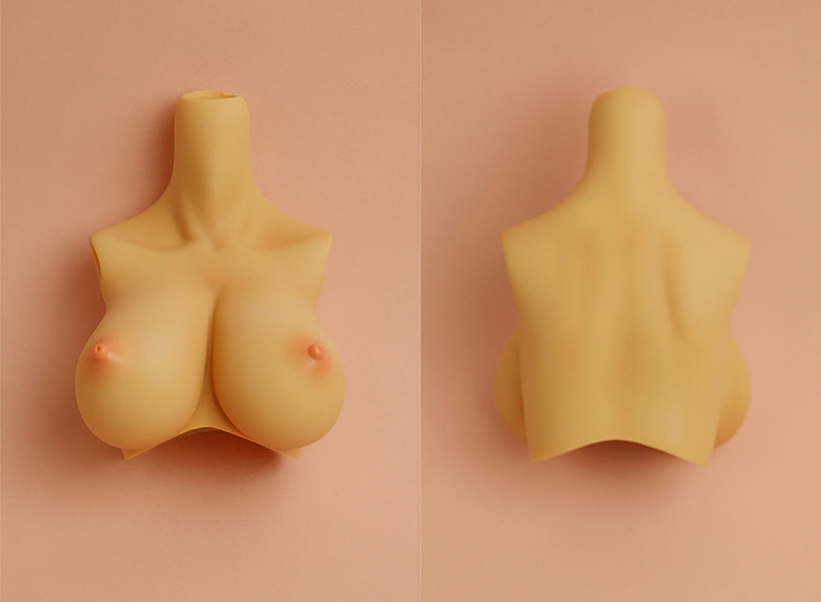 [Outer Body Part] Type-C2 Bust Tan Soft Skin (Blushed)