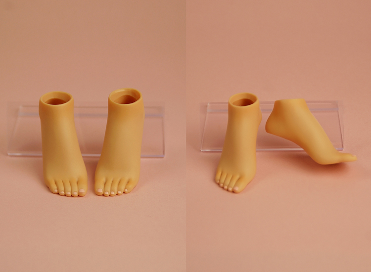 [Outer Body Part] Heel Feet Tan (Blushed)