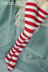 CAC000024 Red & White Stockings