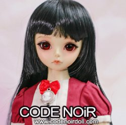 CMW000052 Black Hime-Cut