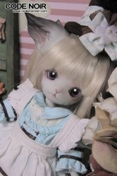 CODENOiR x DollZone Mini Kitty - Alice Wish Blue
